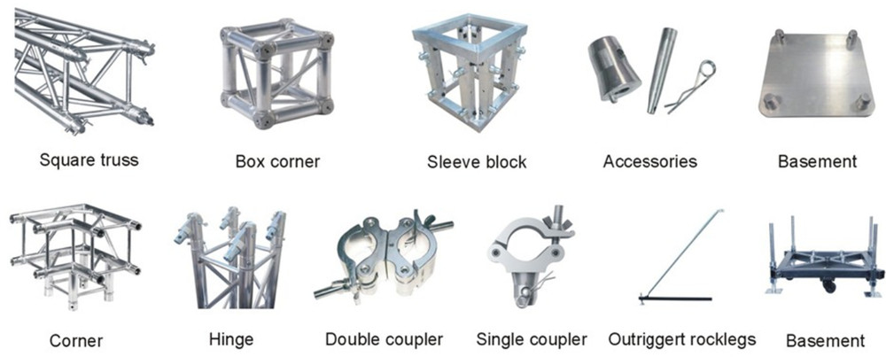 Parts of Aluminum Light Truss
