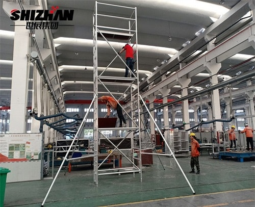aluminum layher scaffolding