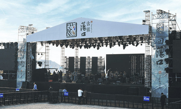 Aluminum truss roof systems
