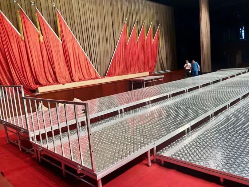 exhibition stage