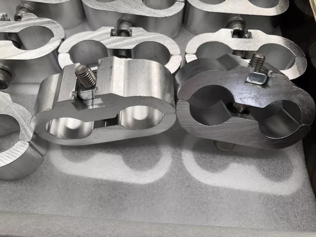 Aluminum alloy polished buckle