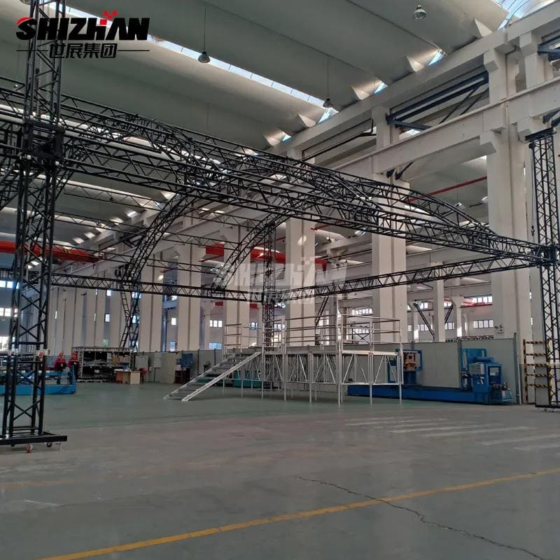 curved stage truss for sale
